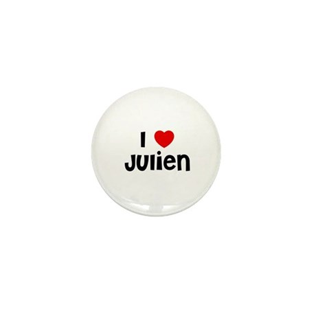 I * Julien Mini Button (10 pack)