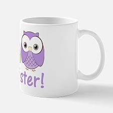 owlbigsispurplegreen Mug