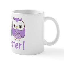owlbigsispurpleblue Mug