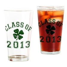 Class Of 2013 - Shamrock DK Green 2 Drinking Glass