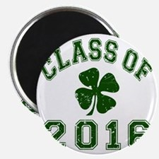Class Of 2016 - Shamrock DK Green 2 D Magnet