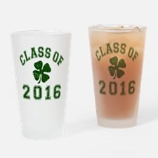 Class Of 2016 - Shamrock DK Green 2 Drinking Glass
