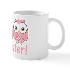 owlbigsispinkgreen Mug