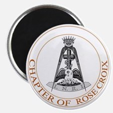 Chapter of Rose Croix Magnet