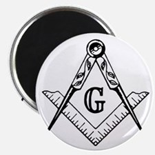 Square and Compasses Magnet