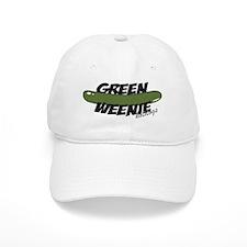 Black Green Weenie Baseball Cap