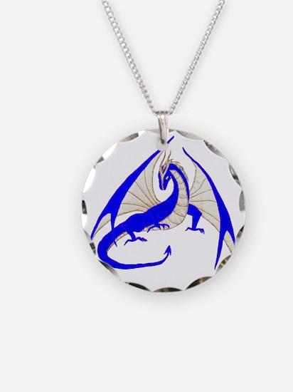 blue dragon Necklace