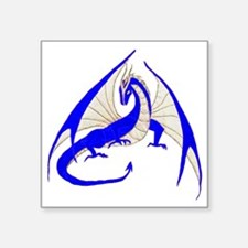 "blue dragon Square Sticker 3"" x 3"""