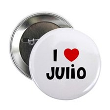 "I * Julio 2.25"" Button (10 pack)"