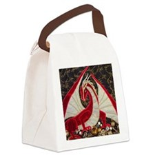 its mine close up-square Canvas Lunch Bag