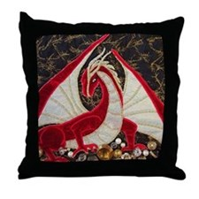its mine close up-square Throw Pillow