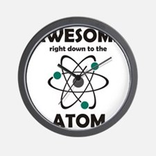 atomsawesome2 Wall Clock