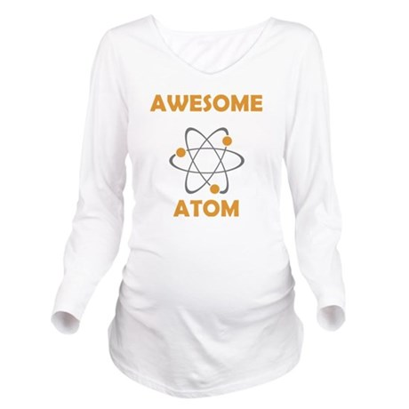atomsawesome Long Sleeve Maternity T-Shirt