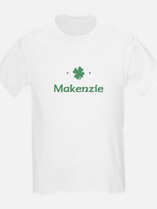 """Shamrock - Makenzie"" Kids T-Shirt"