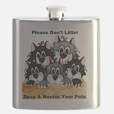 5 dont litter 2-001 Flask