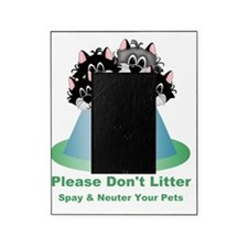 5 Dont Litter Green-001 Picture Frame