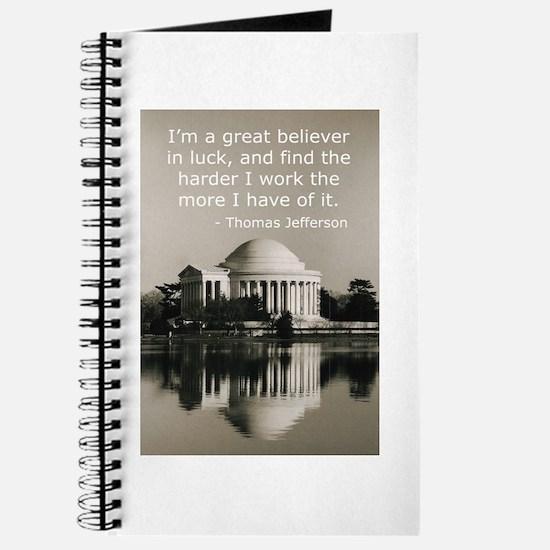 Jefferson's Quote Regarding L Journal