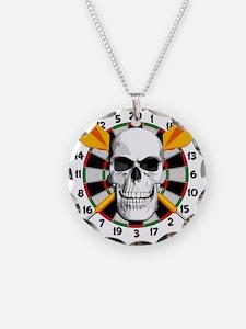 Darts_skull Necklace