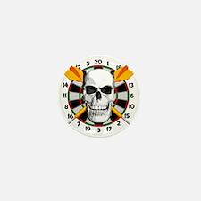 Darts_skull Mini Button