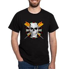 Darts_skull_btn T-Shirt