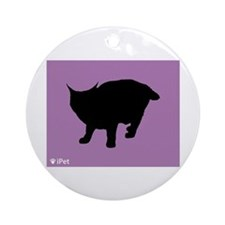 Pixie-Bob iPet Ornament (Round)