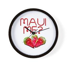 Maui Me? Wall Clock