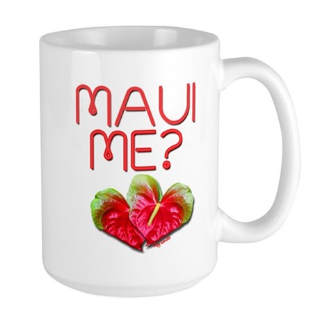 Maui Me? Large Mug