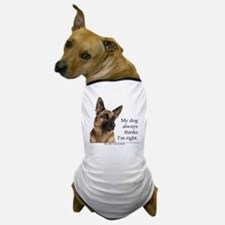 GSvsWifeTile Dog T-Shirt