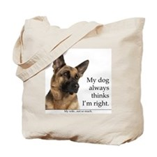 GSvsWifeTile Tote Bag