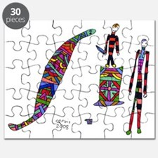 Harry and the snake Puzzle