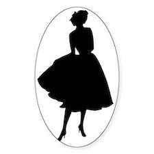 lady---b Decal