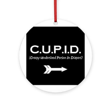 C.U.P.I.D. Ornament (Round)