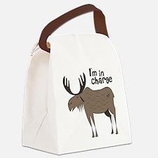 new big moose Canvas Lunch Bag