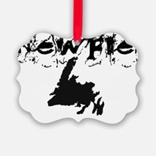 Newfoundland Clothing Picture Ornament