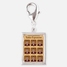 Yankee Guide Magnet Silver Portrait Charm