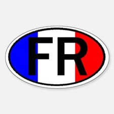 FRANCE OVAL II Decal