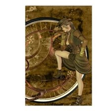 victorian woman Postcards (Package of 8)