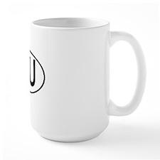 AU OVAL III Mug