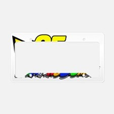 LM95boltVroom License Plate Holder