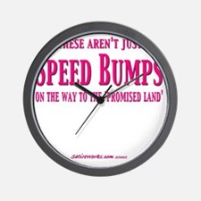 SpeedBumps Wall Clock