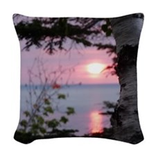 LkSTile Woven Throw Pillow