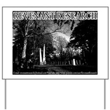 Revenant Research Graphic Yard Sign