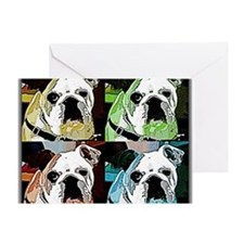 Clyde_The_Bulldog Greeting Card
