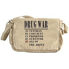 Drug War Messenger Bag