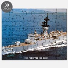whipple de large framed print Puzzle