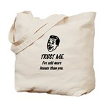 Trust Me Male Tote Bag