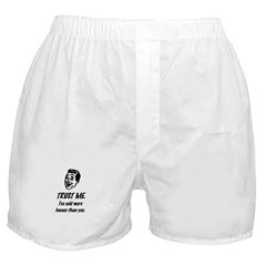 Trust Me Male Boxer Shorts