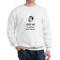 Trust Me Male Sweatshirt