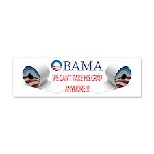 Obama Crap Mug Car Magnet 10 x 3