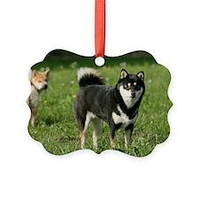 shiba_shoulderbag Ornament